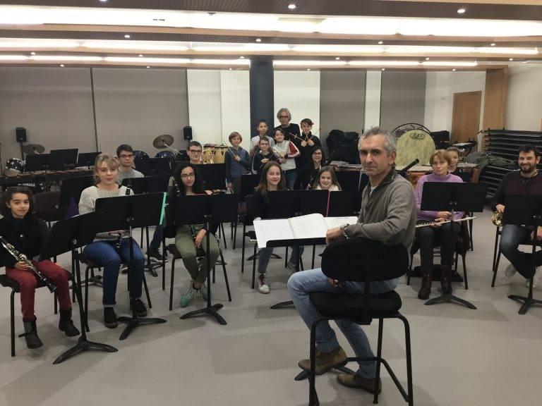 Orchestre B de l'école de musique de la 2c2r
