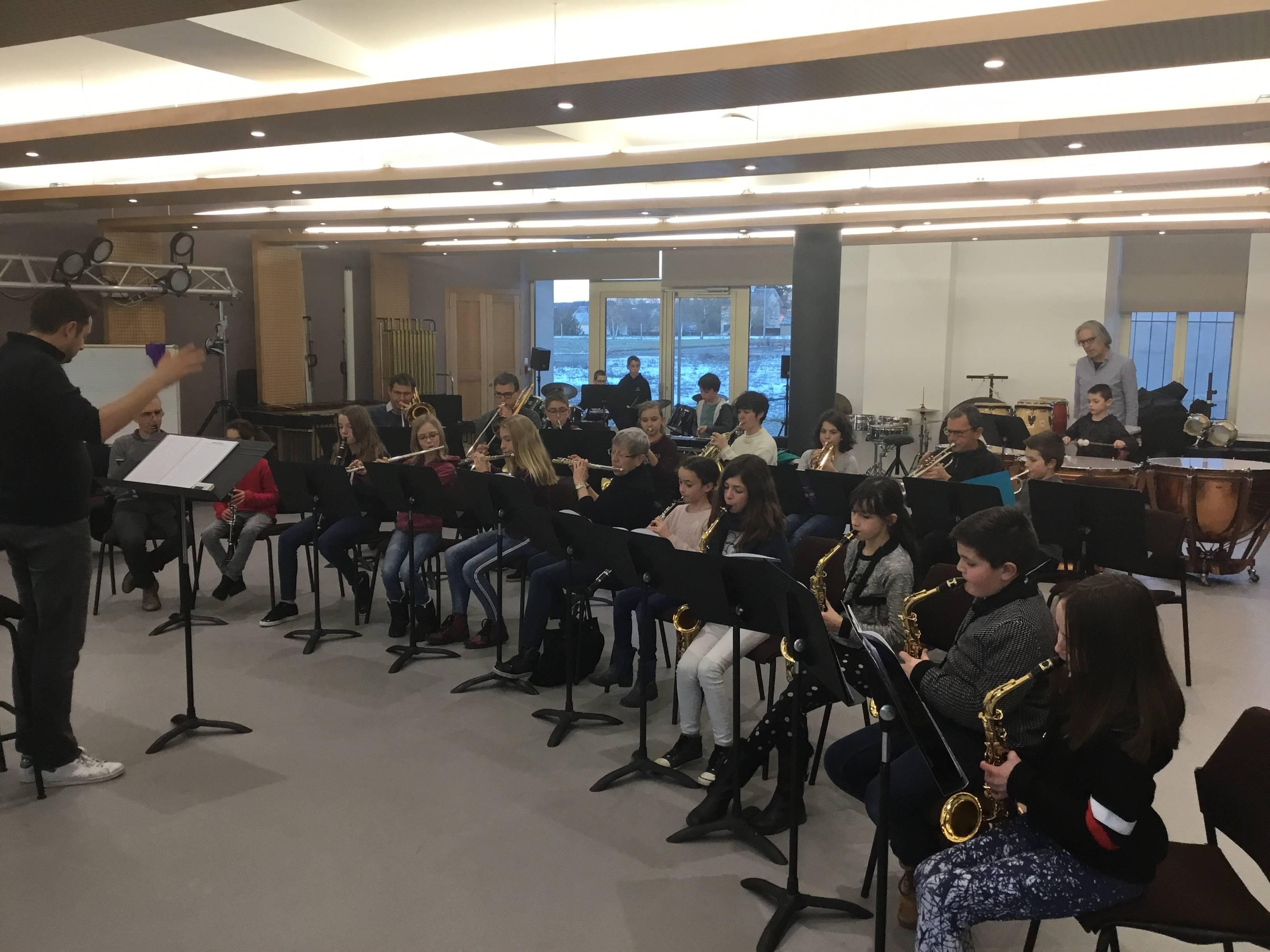 Orchestre A de l'école de musique de la 2c2r