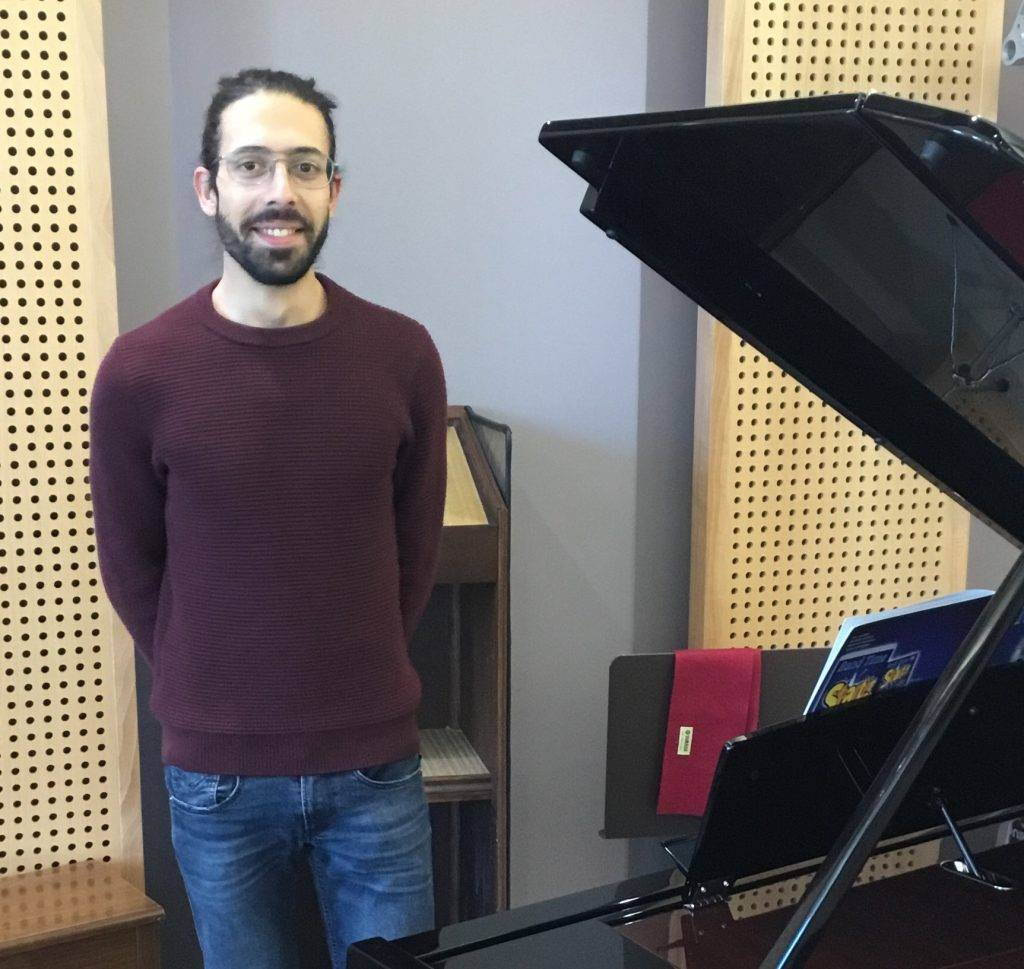 Matthias Barlier professeur de piano à rambervilers